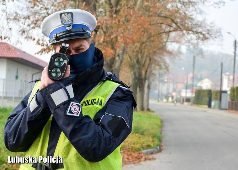 Policjanci kontrolowali prędkość na krośnieńskich drogach.