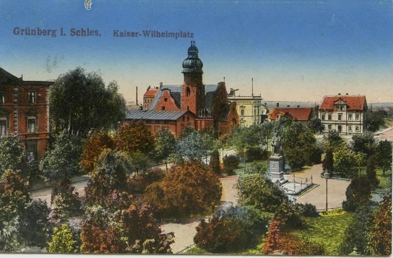Był placem cesarza Wilhelma, Wolności, a nawet i... cmentarzem. Zobaczcie, jak przez wieki zmieniał się plac Bohaterów w Zielonej Górze