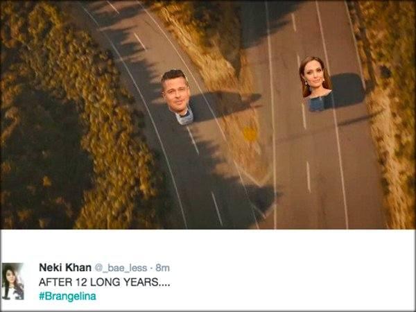 Brad Pitt i Angelina Jolie rozwodzą się. Co na to Jennifer Aniston? [MEMY]