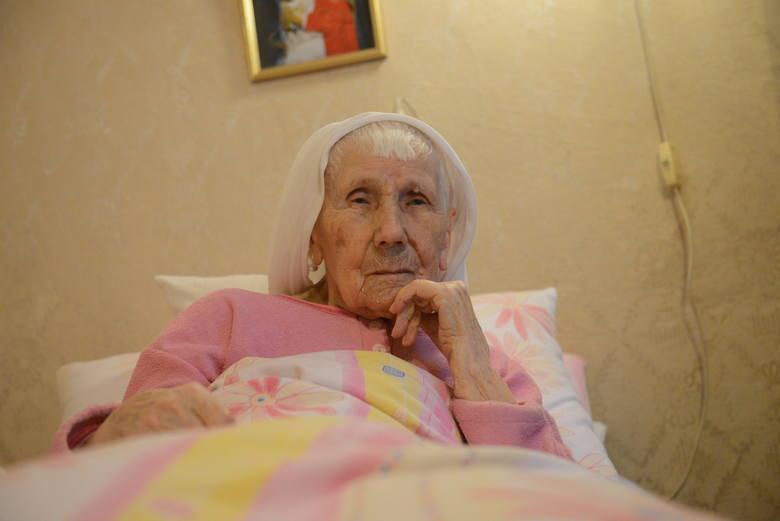 Pani Antonina przyznaje, że nie ma przepisu na długowieczność.