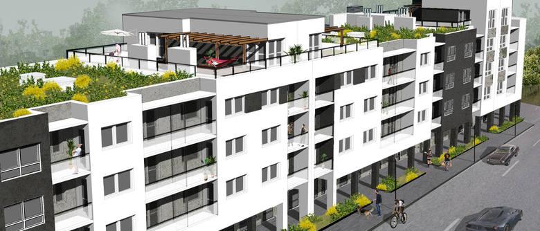 Nowoczesne osiedle w Centrum Lubonia