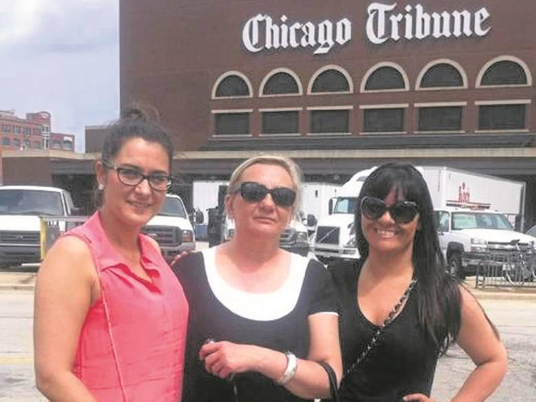 Od lewej: Milena, autorka artykułu oraz Didi, inicjatorka wyprawy.
