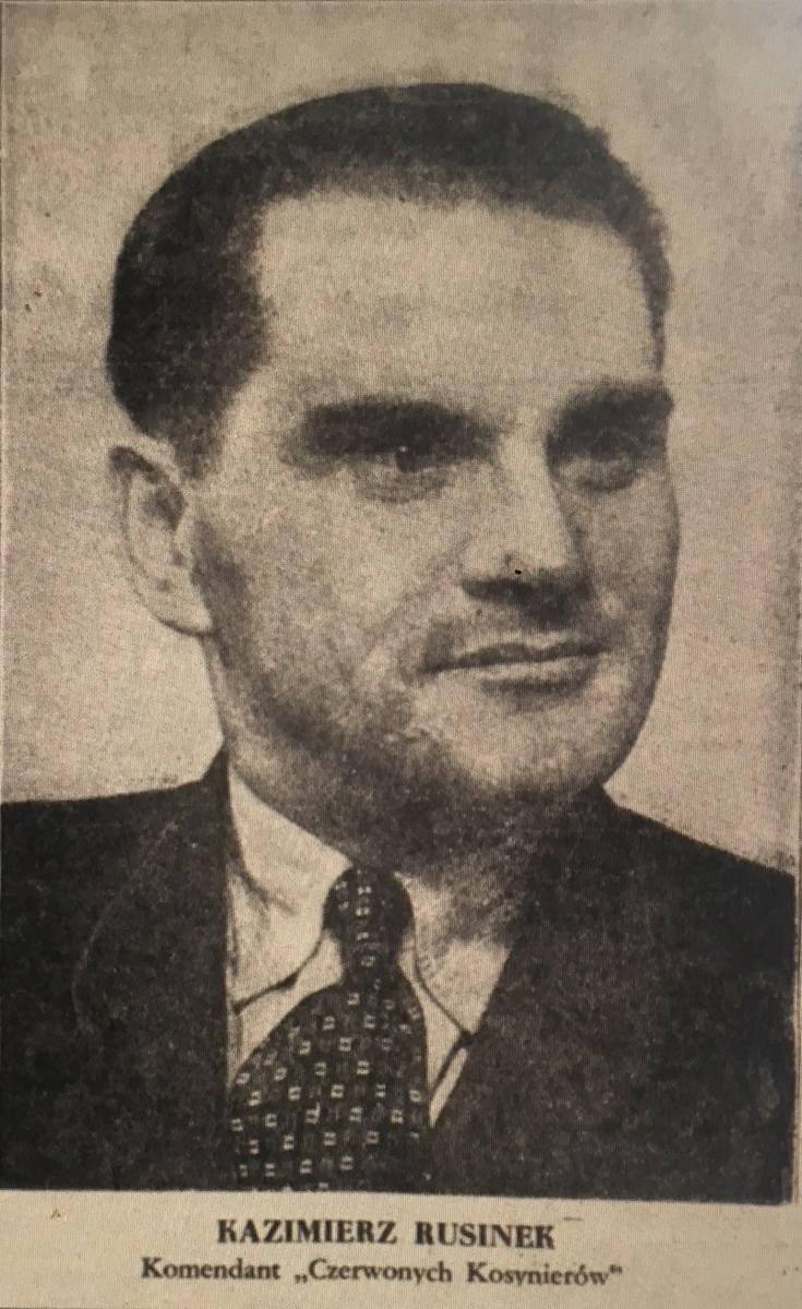 Robotnik Kazimierz Rusinek, 27.01.1947 r.