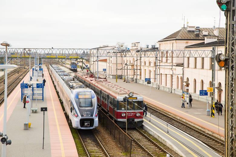 Trasa Białystok - Warszawa pociągiem w 90 minut