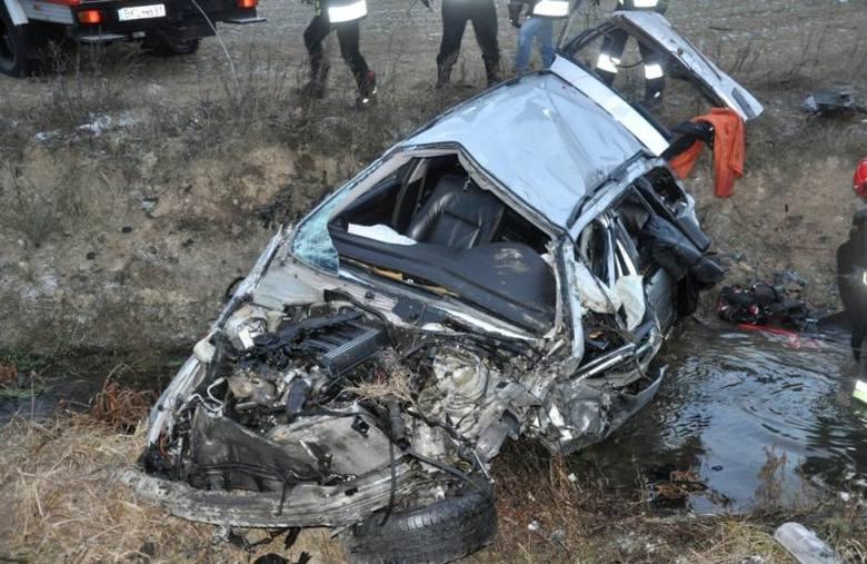 Stawiski-Poryte. Groźny wypadek kierowcy bmw (zdjęcia)