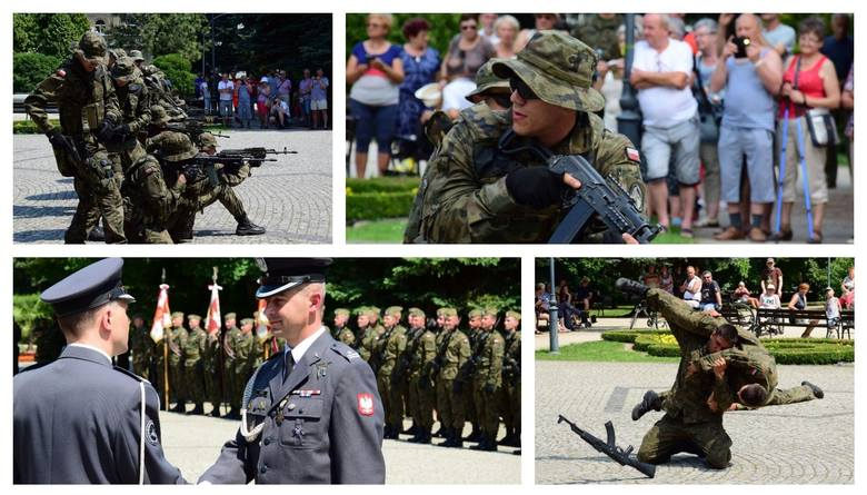 Dziś w samo południe w inowrocławskich Solankach odbyły się uroczystości związane ze świętem 1. Brygady Lotnictwa Wojsk Lądowych w Inowrocławiu. - Każdego