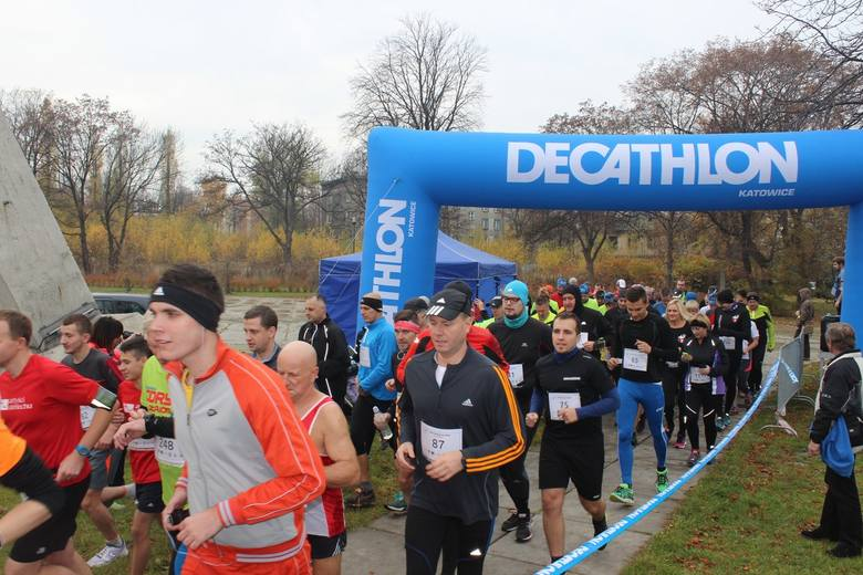 174 biegaczy wystartowało w drugiej edycji Biegu Dwóch Szybów