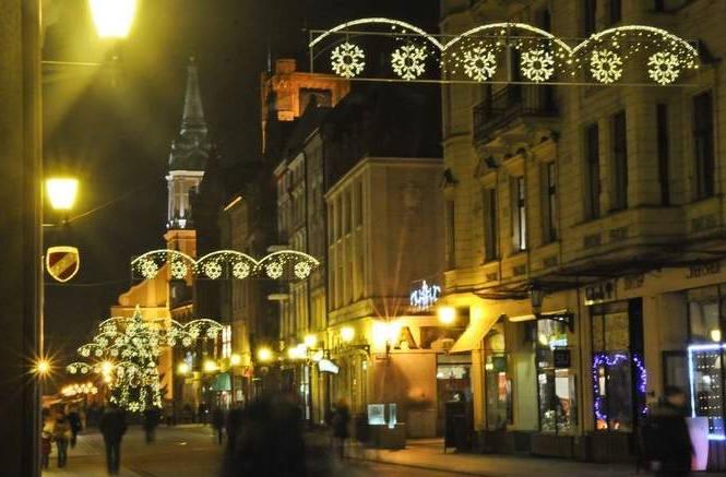 Toruń. Niech się święta świecą