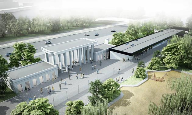 Tak ma wyglądać nowa brama główna zoo we Wrocławiu