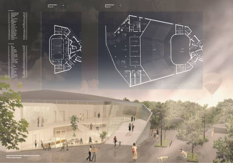 Projekt autorstwa biura Vision4 venue GmbH, Nurnberg.