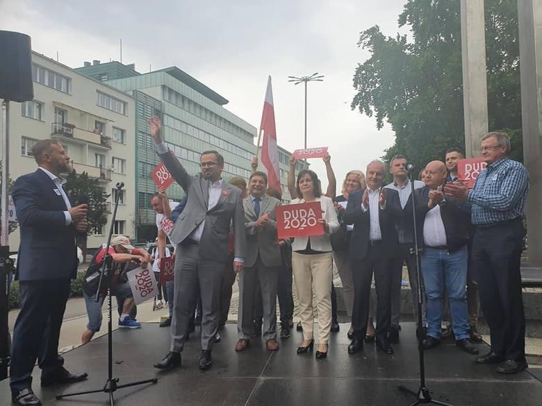 W Gdyni w czwartek, 9 lipca odbył się wiec poparcia prezydenta Andrzeja Dudy