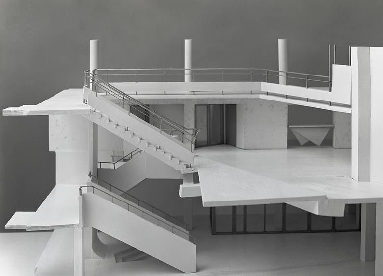Projekt Bunkra w nowej odsłonie, arch. Andrzej Kaczmarczyk, arch. Sylwia Bartoszewska, model i zdjęcie Krzysztof Kachel