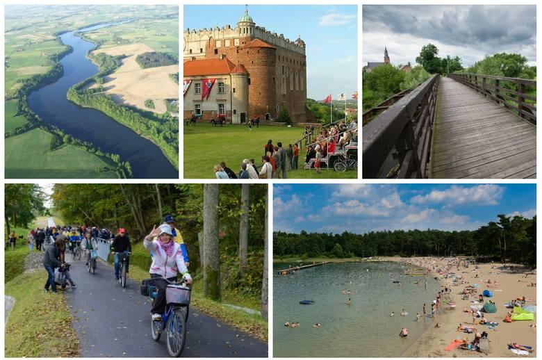 Wiosenna pogoda sprzyja rowerowym wycieczkom. Na które trasy warto wybrać się w województwie kujawsko-pomorskim? Oto nasz subiektywny TOP 10.(opracował