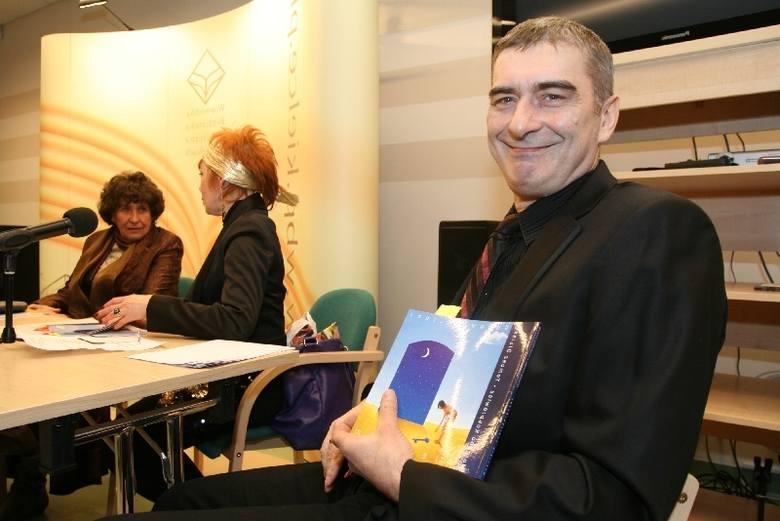 Tomasz Olbiński pierwszy raz pokazał swoje prace w Kielcach.