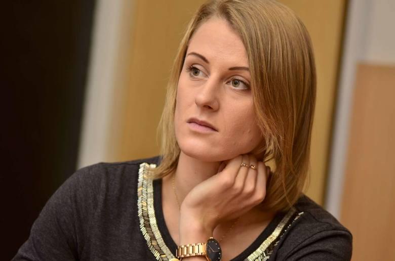 Patrycja Wyciszkiewicz ma już za sobą pierwsze zajęcia ze studentami.