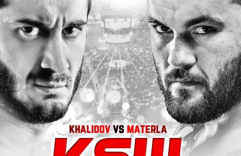 Walka Materla - Khalidov walką wieczoru na gali KSW 33 w Krakowie