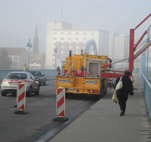 Utrudnienia na moście granicznym w Słubicach
