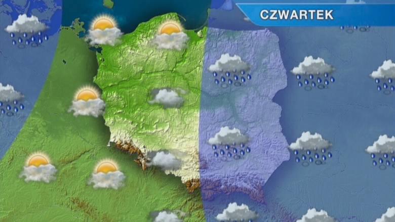Pogoda w Szczecinie i regionie. Czwartek z parasolem