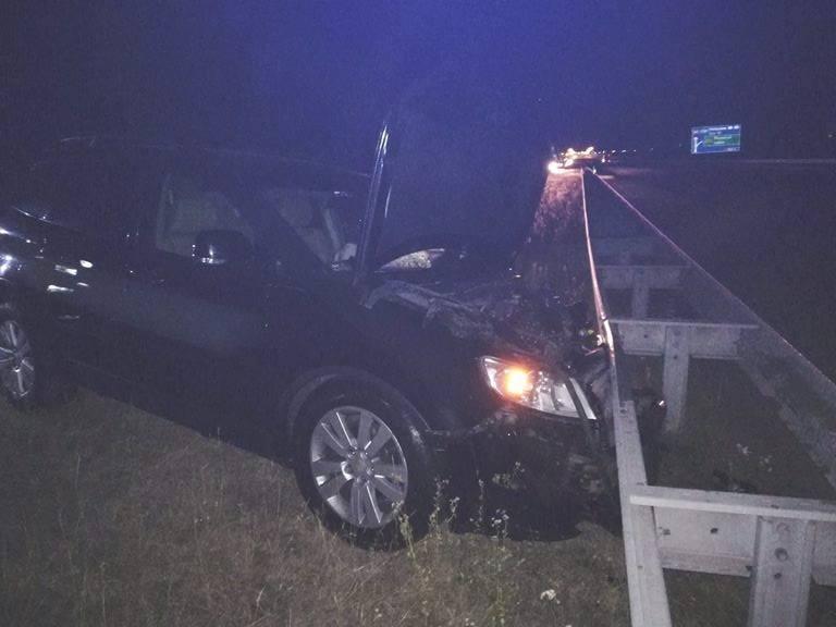 We wtorek przed godz. 23 służby ratunkowe otrzymały zgłoszenie o wypadku na autostradzie A4 w Gniewczyna Łańcucka. - Po dojeździe na miejsce zastępów