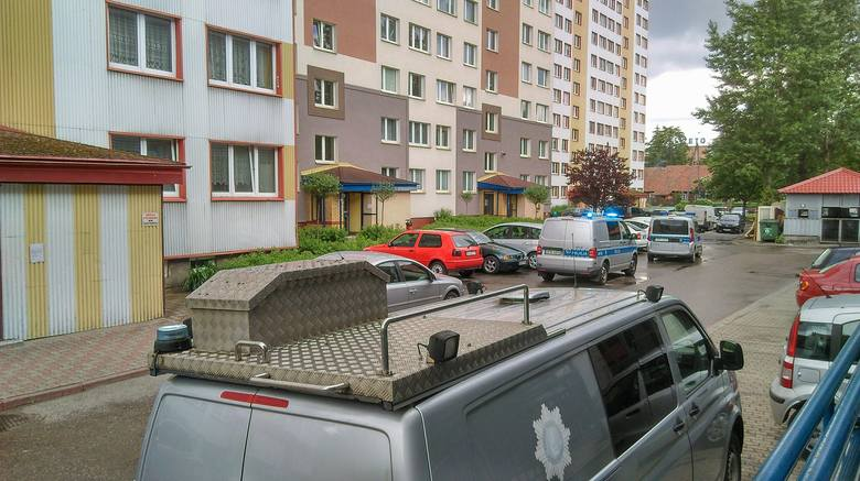 Było to niedaleko II Komisariatu Policji w Białymstoku.