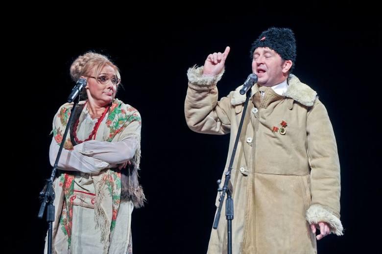 Kabaret pod Wyrwigroszem wystąpił w Teatrze Dramatycznym (zdjęcia)