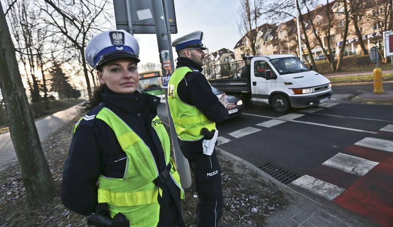 policja z Zielonej Górze