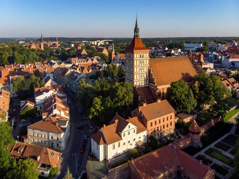 Olsztyn - zdjęcia z drona <br /> fot. worldisbeautifuleu