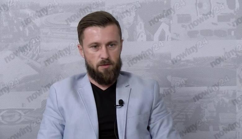 Szymon Grabowski, trener 2-ligowych piłkarzy Apklan Resovii: Chciałem zobaczyć coś, co mógłbym przełożyć na pracę w Resovii [STADION, WIDEO]