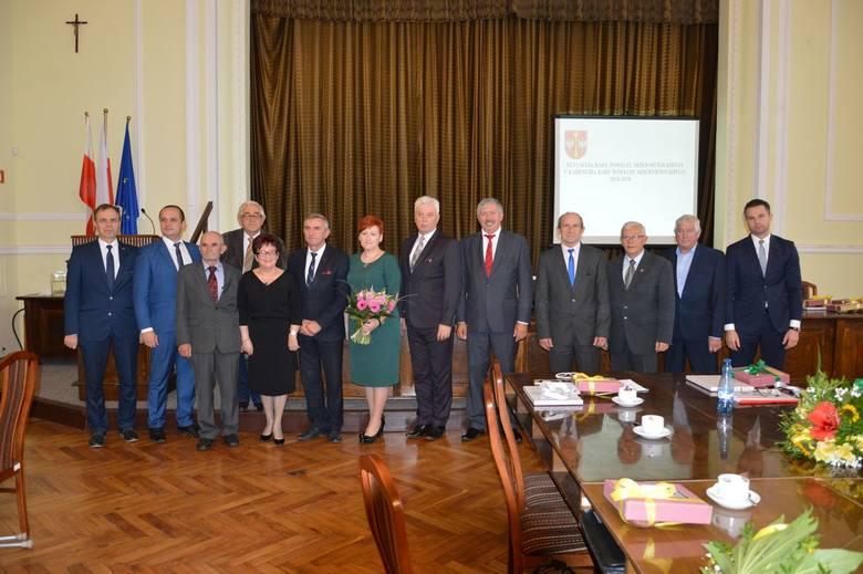 Rada Powiat Skierniewickiego V kadencji (2014 - 2018)