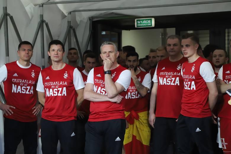 Trener ŁKS Kazimierz Moskal: Bardzo chcieliśmy wygrać i to się udało!
