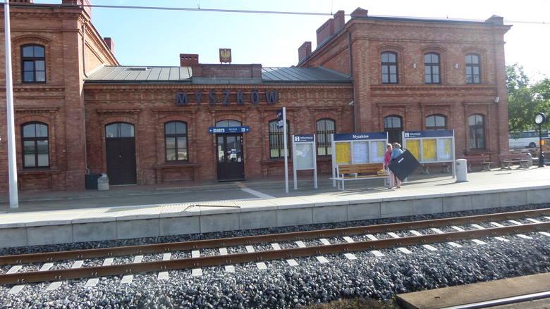 Remont na torach na linii S1 od Częstochowy do Zawiercia. To część trasy z Gliwic. Odwołane kursy pociągów, nowe perony
