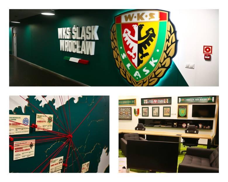 Piękna siedziba Śląska na Stadionie Wrocław [DUŻO ZDJĘĆ]WKS Śląsk na Stadionie Wrocław. Jeszcze niedawno traktowaliśmy to w kategoriach niezbyt sprecyzowanej
