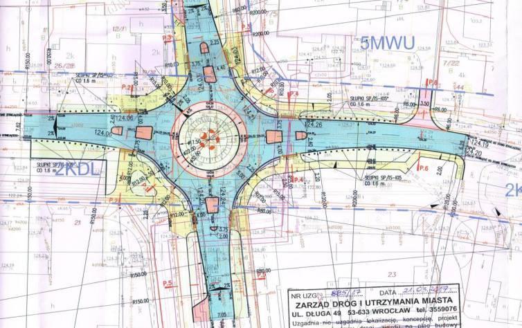 Na skrzyżowaniu ulic i Pięknej i Nyskiej we Wrocławiu powstanie rondo - plan.