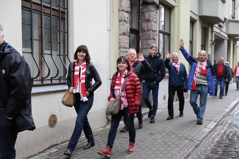Polscy kibice w Rydze