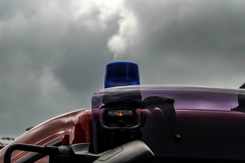 Około godz. 10.20 na drodze krajowej nr 8 w miejscowości Rybniki doszło do zderzenia czterech ciężarówek i dwóch samochodów osobowych. Jedna osoba została