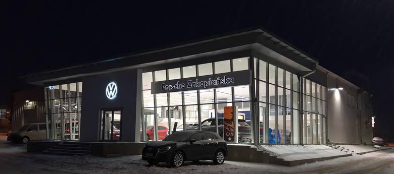 Salon Volkswagena na Górze Libertowskiej należy do Porsche Inter Auto Polska