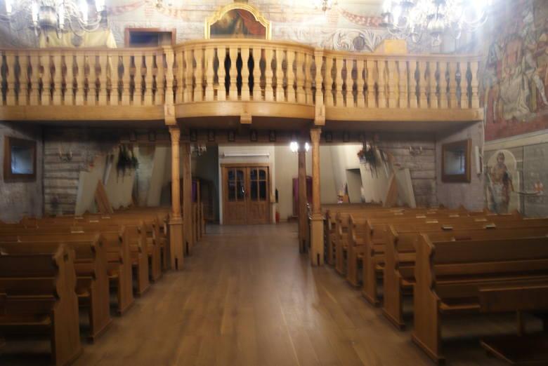 Kościół św. Marcina w Ćwiklicach koło Pszczyny.