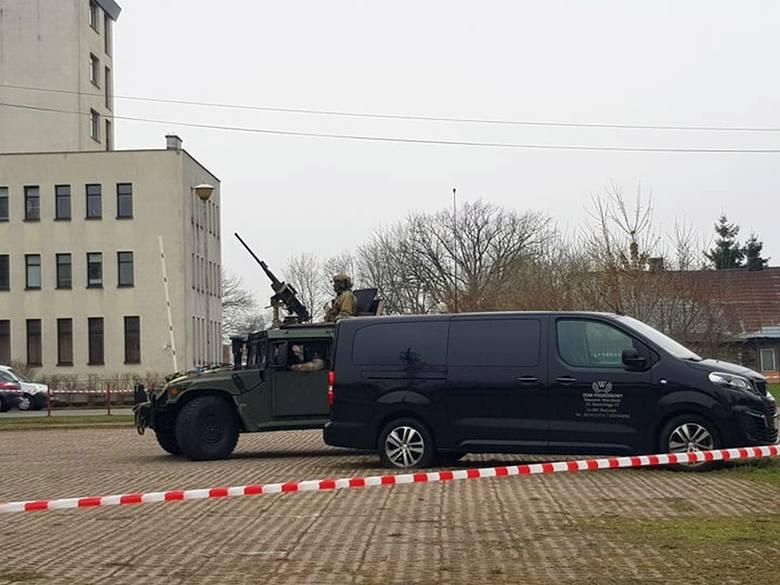 Ćwiczenia specjalnej jednostki wojskowej GROM w Białymstoku