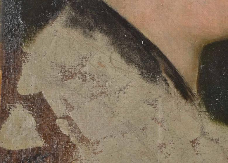 To może być obraz Edouarda Maneta. Latami wisiał w Bytomiu