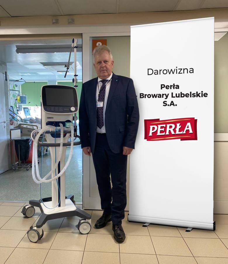 Piotr Matej – Dyrektor Wojewódzkiego Szpitala Specjalistycznego im. Stefana Kardynała Wyszyńskiego SP ZOZ w Lublinie
