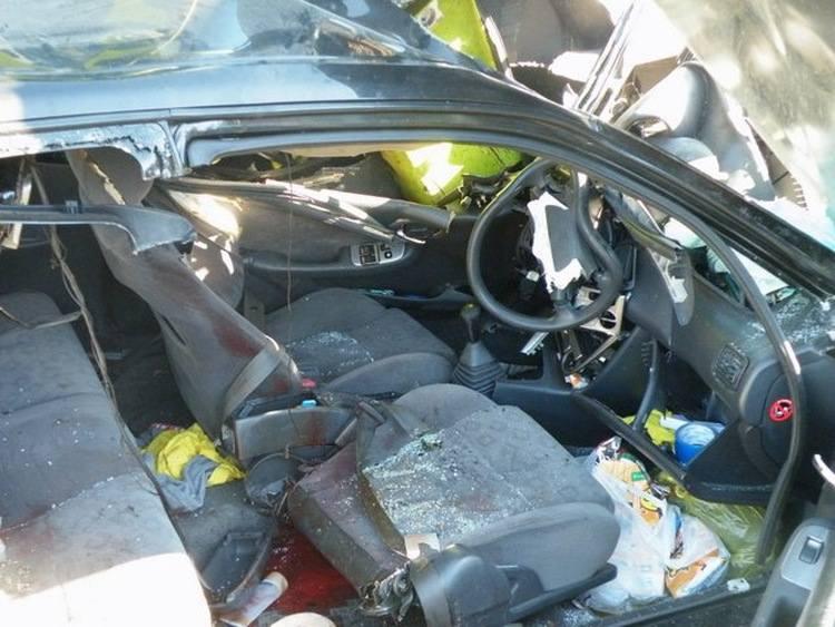 Grabarka: Wypadek na przejeździe kolejowym