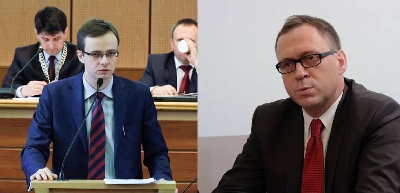 Dwugłos o programie Mieszkanie Plus. Tomasz Madras (z lewej) i Szczepan Barszczewski