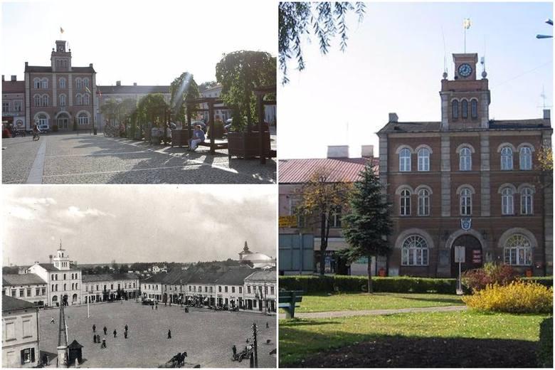 Wielu skierniewiczan z nostalgią wspomina Rynek sprzed przebudowy, z trawnikami, żywopłotami i potężnymi wierzbami. Jednak już przed II wojną światową plac przed ratuszem pozbawiony był zieleni.