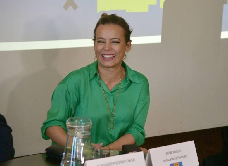 Anna Mucha, ambasador Kameralnego Lata.