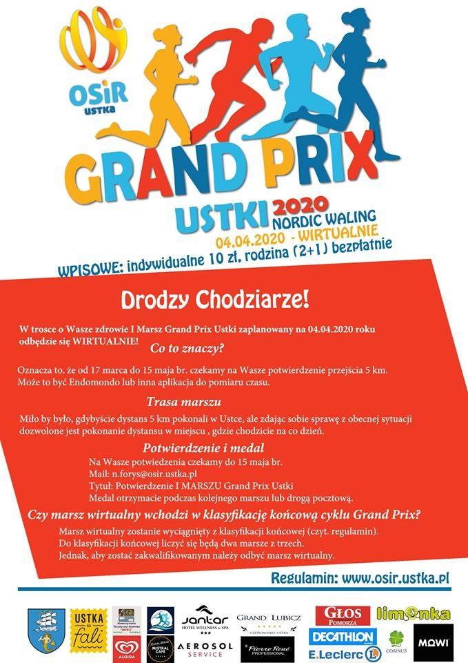 Grand Prix Ustki odbędzie się, ale wirtualnie! Zapisy trwają