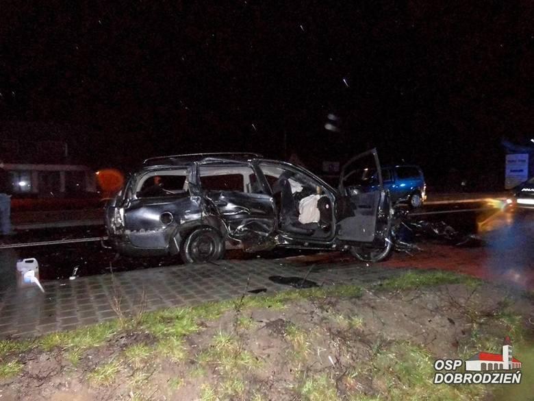 Tragiczny wypadek na DW 901 w Malichowie.