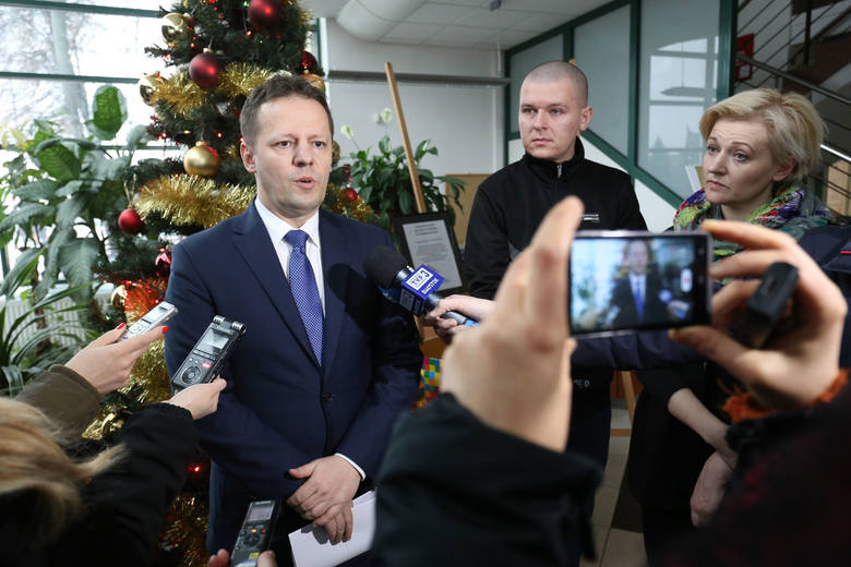 Cezary Sieradzki, prezes PKS Nova ma kłopot z budową dworca. Wiadomo, że będzie opóźnienie, nie wiadomo tylko jak poważne.