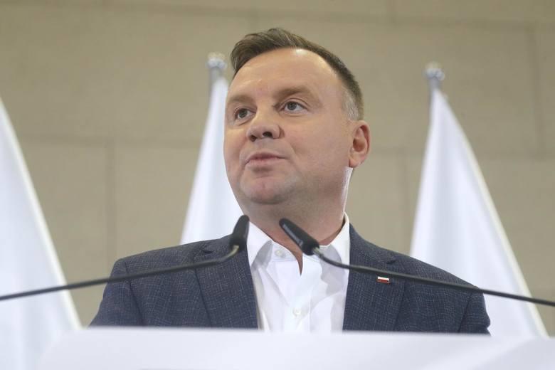 Prezydent Andrzej Duda wziął udział w biegu Tropem Wilczym