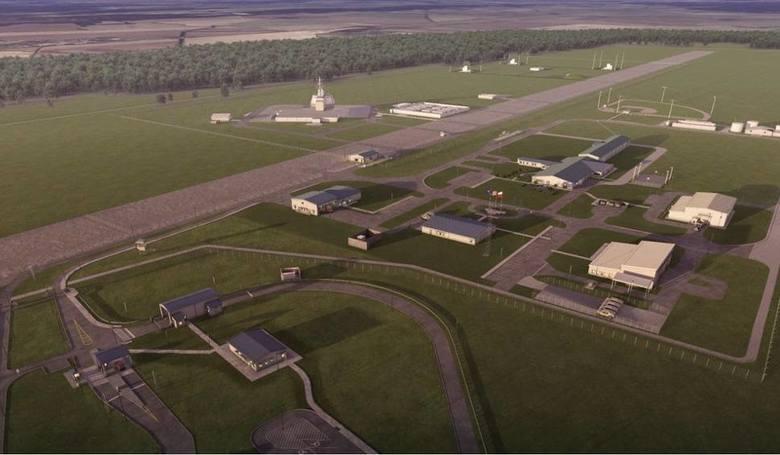 Boisko do baseballa na terenie instalacji w Redzikowie już jest. Widać je nawet z satelity. Również radar i trzy wyrzutnie antyrakiet.