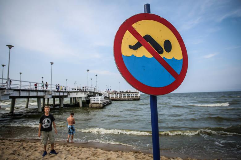 Lista zamkniętych kąpielisk w Polsce. Sprawdź listę zamkniętych plaż nad Bałtykiem oraz polskimi jeziorami.